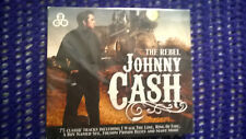 *BRAND NEW* THE REBEL JOHNNY CASH - 3 CD BOX SET - RING OF FIRE, BOY NAMED SUE
