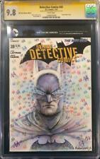 NATHAN SZERDY ORIGINAL Sketch Art SIGNED CGC 9.8 Batman not cbcs Harley Quinn