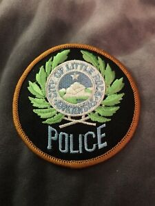 Retired Patch: City of Little Rock Arkansas Police Department Patch- Vintage