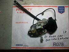 2001 Honda CRV Left RearDoor Latch Mechanism & Actuator  TESTED OEM #R078+