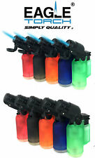10 Pack 45 Degree Angle Jet Flame Torch Lighter Refillable V.1