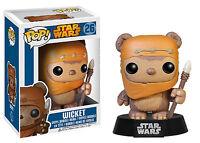 Funko POP! Star Wars ~ WICKET THE EWOK VINYL FIGURE ~ Return of the Jedi