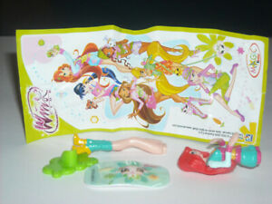 DE103 BLOOM + BPZ KINDER SORPRESA ITALIA 2009 WINX CLUB