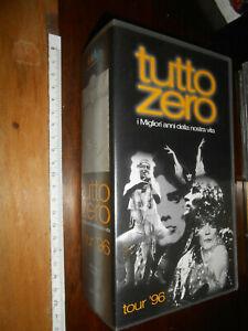 """vhS-videocassette- TUTTO ZERO-VHS DOPPIA """"TUTTO ZERO- TOUR 96 """""""