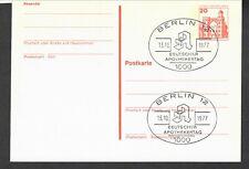 Germany postalcard  Apothekertag pharmacist day 1977 cancel Berlin pharmacy