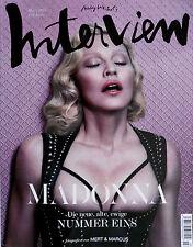 MADONNA * INTERVIEW MAGAZINE (GERMAN EDITION) - COVER #2 * BN! * MERT & MARCUS