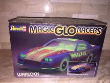 REVELL MAGIC GLO RACERS WARLOCK 1/32 SCALE MODEL CAR KIT NO DECALS