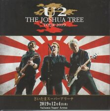 "U2 "" LIVE IN SAITAMA JAPAN Tour 2019, 2 CD DIGIPACK"""