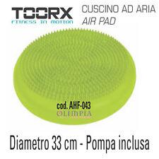 TOORX - CUSCINO MEDUSA BALANCE TRAINER ad ARIA  + POMPA - Diam.33cm H.6cm circa