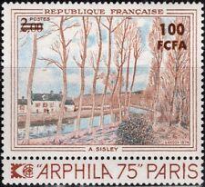 REUNION CFA 426 ** MNH Tableau de SISLEY peintre tableau Canal du Loing
