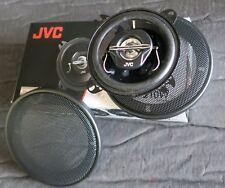 schwarze JVC Deckeneinbaulautsprecher 10cm 2- Wege Koax