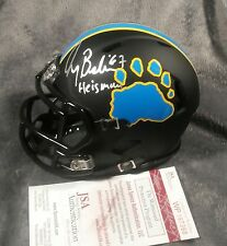 GARY BEBAN signed UCLA BRUINS custom matte mini helmet JSA WITNESS coa autograph