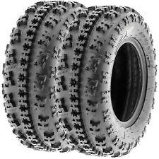 SunF All Terrain ATV Tires 23x7-10 23x7x10 AT Race 6 PR A027 Tubeless [Set of 2]