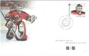 2015 Canada 🍁 #2872 MARTIN BRODEUR: GREAT GOALIES🏒 First Day Cover 🏒 FDC