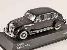 Chrysler DeSoto Airflow 4-Door Sedan 1936 Black Carl Breer Whitebox WB060