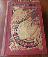 LE MONDE VU PAR LES ARTISTES  GEOGRAPHIE ARTISTIQUE  RENE MENARD   1881
