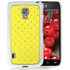 Hardcase Bling Diamond für LG Optimus L7 II P715 in gelb Etui Hülle Case Cover