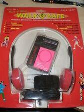 Walk Safe Mini Small Radio Am Fm Panic Alarm Clip Portable Sports Walkman Pink