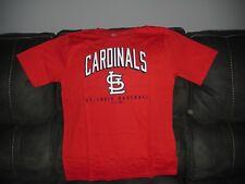 New MLB St. Louis Cardinals Youth XL 18 Team Apparel T-Shirt Baseball Red Molina