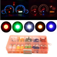 T5 T10 LED 5050 SMD Panel Dashboard Light Bulb Green Red White Blue Yellow Lamps