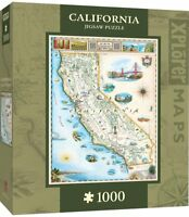 California Xplorer 1000 piece jigsaw puzzle  680mm x 490mm  (mpc)