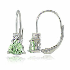 Peridot Topaz Fine Earrings