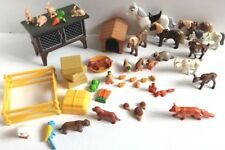 Playmobil country petting zoo farm ducks horses goats ducks rabbits hutch ANIMAL