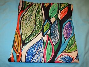 """1 Hommomh Bold Abstract Tree Art Shower Curtain Panel extra long 82"""" x 72"""" wide"""