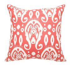 Red Circles linen and cotton cushion cover 45 x 45 Home Decor
