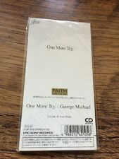 """**3"""" Japanese CD**One More Try-George Michael (Wham!) Excellent"""