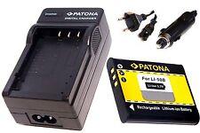 AKKU und Ladegerät für  für Olympus Stylus Traveller  SZ-30MR / Li-50b