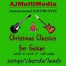 Custom Guitar Lessons, Learn Xmas Guitar Classics - DVD Video