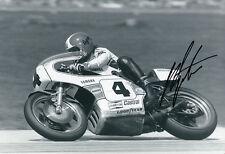 Giacomo AGOSTINI main signé Yamaha 12x8 photo 3.