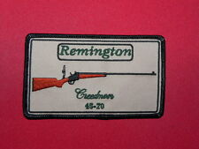 REMINGTN CREEDORE ROLLING BLOCK TARGET RIFLE PATCH  3.5  INCH  FREE SHIPPING