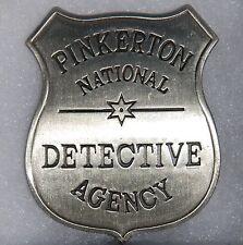 Pinkerton Detective Agency Replica Sheriff Western Badge Police Marshal PH027