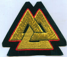 Ancient Pagan Norse Nordic Viking Rune Sigil Occult Spirit Symbol Valknut Patch