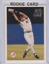 DEREK JETER Future Star RC Topps Baseball NEW YORK YANKEES ROOKIE CARD