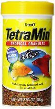 TETRA TROPICAL GRANULES SMALL FISH RICH MIX 3.52 OZ FISH FOOD. FREE SHIP TO USA