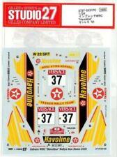 "STUDIO27 1/24 SUBARU IMPREZA WRC ""Havoline"" Sanremo '01 DC517C Decal"