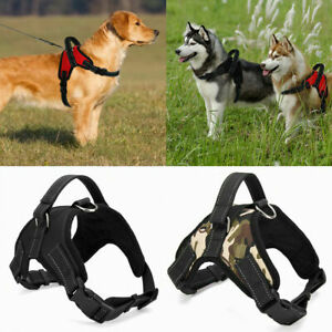 No Pull Dog Pet Harness Adjustable Control Vest Dogs Reflective Training S Large