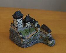 1994 The Danbury Mint Karlstejn Castle Bohimia, Czech Republic w/Box