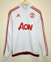 ADIDAS MANCHESTER UNITED 2012 TRAINING TRACK TOP FOOTBALL SOCCER JERSEY size XS