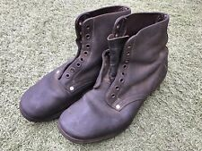 WW2 military German officers boots genuine leather shoes size 40.1937.