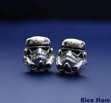 Star Wars Gadget - Trooper Cufflinks  Coppia gemelli Trooper L'attacco dei cloni