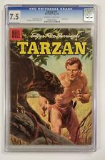 Tarzan #77 (CGC 7.5! Painted Cover! A 1956 Masterpiece!)