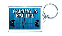 Novelty Gaming Keyring Gamer Gifts For XBOX Son Brother Boys Christmas Man Cave