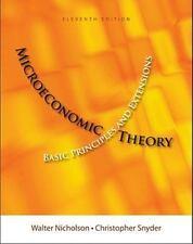 Upper Level Economics Titles: Microeconomic Theory : Basic Principles and...