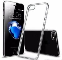 iPhone 8 Case - Transparent Crystal Clear Soft Thin Flexible TPU Cover