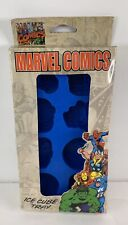 Ice Cube Tray Mold Marvel Comics Heroes Iron Man Thing Captain America Silicone