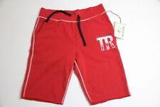 True Religion Men Red Sweat  Shorts L LARGE
